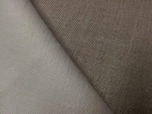 Tissus au mètre : 87% lin et 13% de polyester