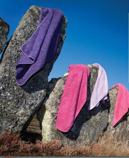 Grand choix de couleur de drap transat, drap de plage