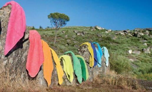Linge de plage, grand choix de couleur en drap de plage