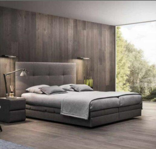 Ensemble de lit avec matelas et boxspring confort