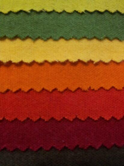 Tissus au mètre flanelle : grand choix de coloris chez Vrancken