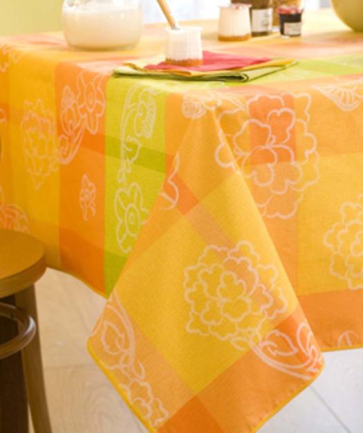 Linge de table - Nappe enduite chez Vrancken