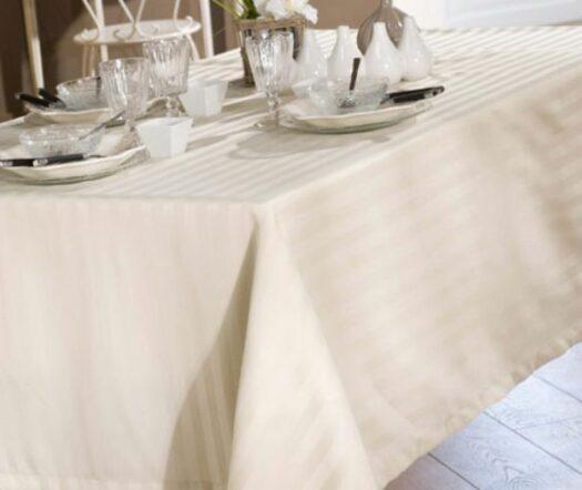 Linge de table ligné
