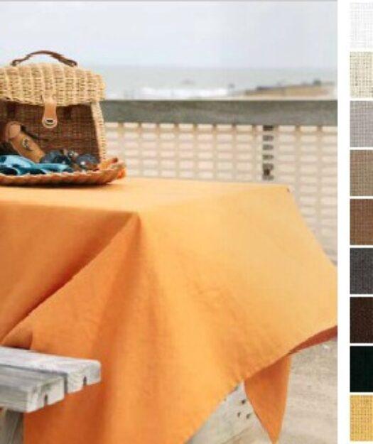 Ensemble de linge de table avec nappe et serviettes en lin