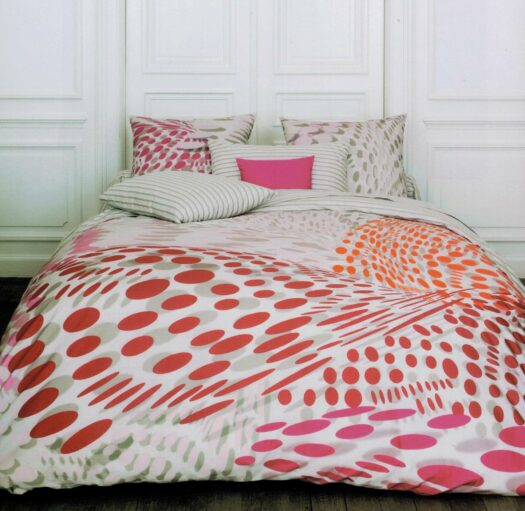 Linge de lit fantaisie songe coton percale