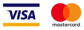 Moyens de paiement : visa et mastercard